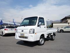 スバルサンバートラックTB 4WD 5MT エアコン・パワステ付 リフトアップ