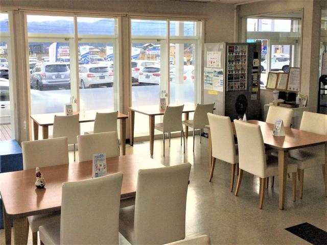 のこぎり山を見ながらフリードリンク!ちょっとしたカフェ気分 ゆっくりおくつろぎください。