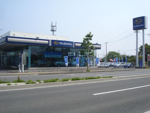 国道45号線沿いに立地しております。八戸駅から車で15分!