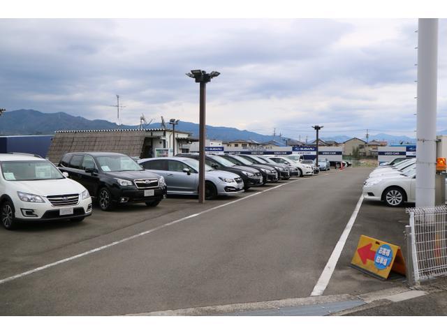 安心のスバル認定中古車在庫多数、県内外の在庫からお探しいたします。