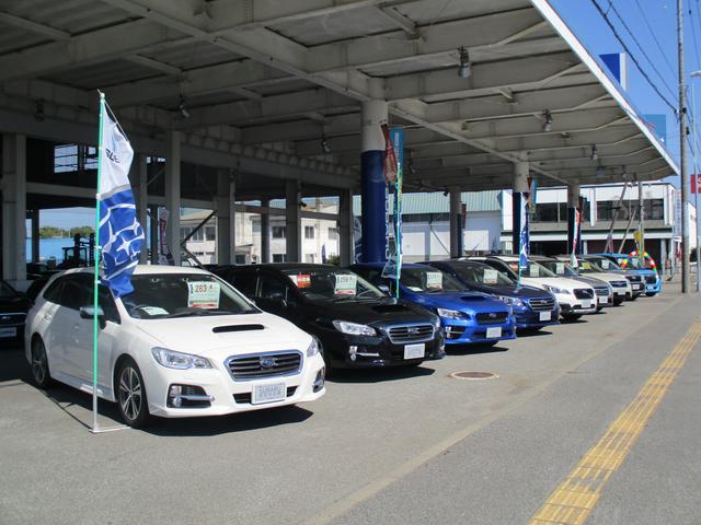今話題のアイサイト搭載車をはじめ、高品質スバル認定中古車を多数展示!