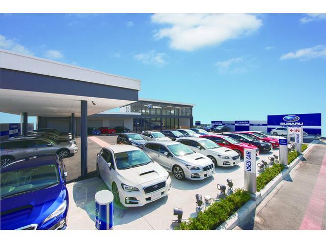 高年式車やアイサイト搭載車を中心に常時50〜60台展示しております!!