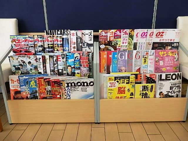 様々な種類の雑誌も取り揃え!定期購読で最新号をご用意☆