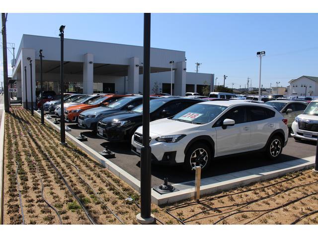 アイサイト搭載車両を中心に高品質車を常時展示しております。