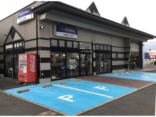停めやすく、色分けして分かりやすい駐車スペース!